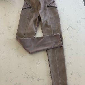 NWT Mayoral Vegan Leather Tan Pants